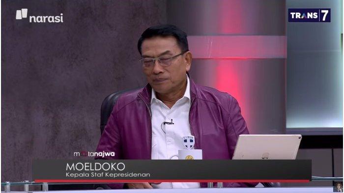 Dicecar Najwa Shihab soal Jeda 10 Hari Video Marah Jokowi, Moeldoko: Itu Enggak Perlu Dibahas Lah