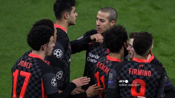 HASIL Liga Champions: Satu Kaki Liverpool di Perempat Final, Klopp Justru Ungkit Luka Lama The Reds