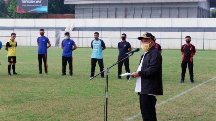 Lapangan Sepakbola Serta GOR Bulutangkis di Kota Depok Sudah Bisa Digunakan kata Walkot Depok