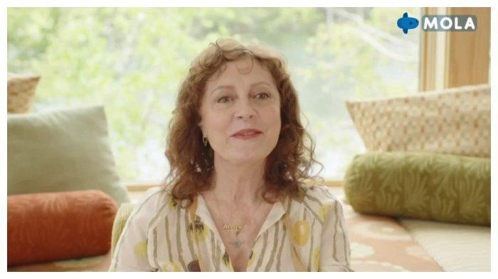 Tampil di Mola TV, Aktris Senior Hollywood Susan Sarandon Bagikan Kisah Hidup