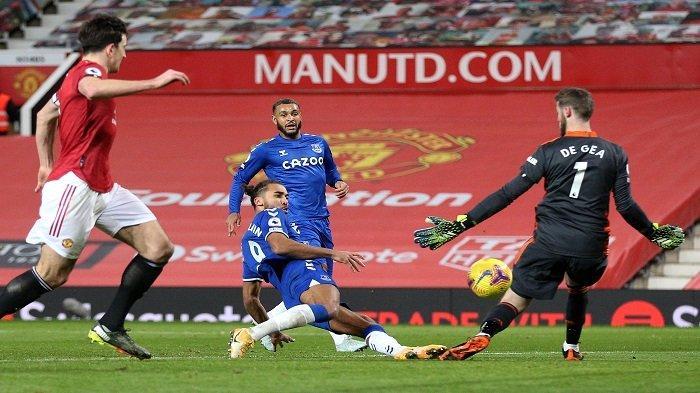 Hasil Liga Inggris, Kemenangan Manchester United Buyar, Solskjaer Soroti Gol Telat Everton