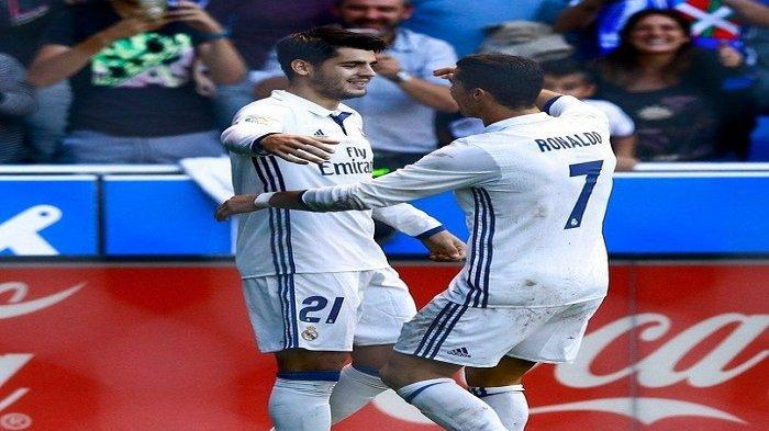 Alvaro Morata Resmi Kembali Jadi Rekan Setim Cristiano Ronaldo di Juventus