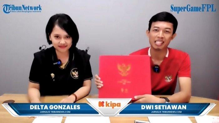 Apparel Resmi Jersey Timnas Indonesia Mills Kerjasama Tribunnews Sponsori Kompetisi SuperGame FPL
