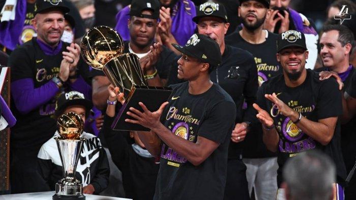 Catatan Menarik Keberhasilan LA Lakers Sabet Gelar NBA 2020: Torehan LeBron James & Rajon Rondo