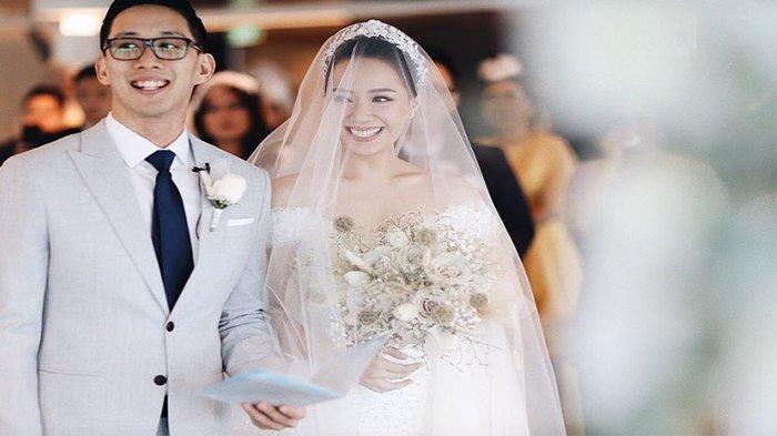 Momen pernikahan Yuanita Christiani dan Indra Wiguna