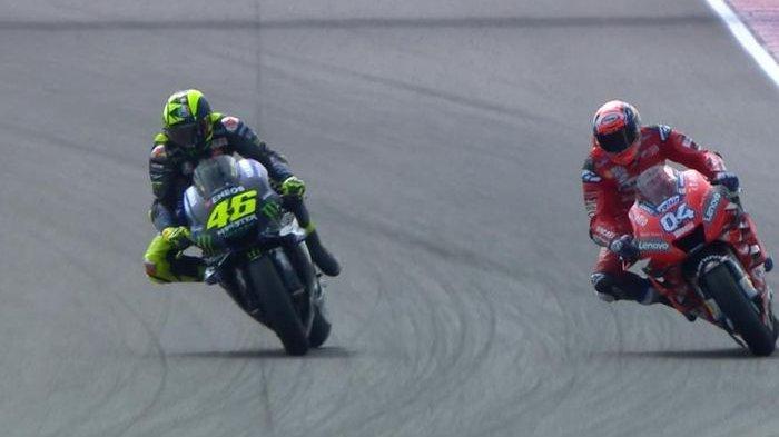 Andrea Dovizioso Ungkap Sisi Positif dan Negatif Kepopuleran Valentino Rossi