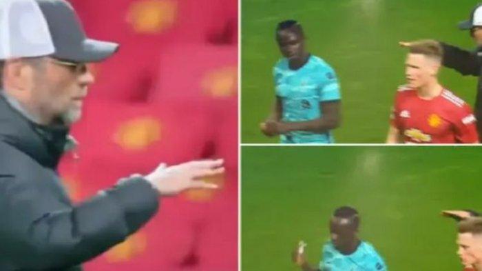 Terungkap, Penyebab Sadio Mane Cueki Juergen Klopp Saat Liverpool Tekuk Man United