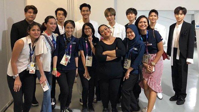 Tike Priatnakusumah Ceritakan Super Junior Sempat Kesal saat di Closing Ceremony Asian Games 2018