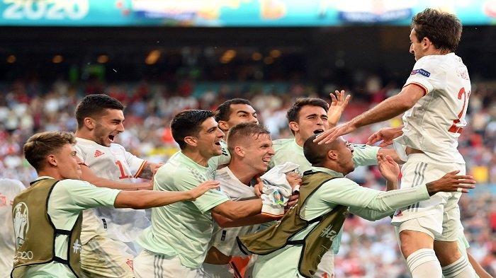 Bekal Berharga Spanyol Buyarkan Mimpi Swiss Melenggang ke Semifinal Euro 2021