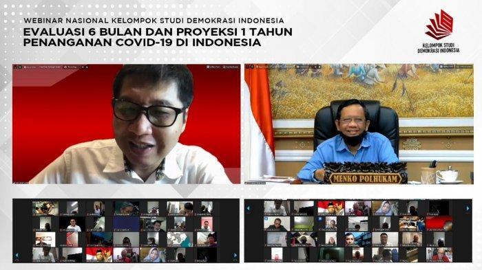 Dipandu Maruarar Sirait, Webinar Perdana KSDI Sedot Perhatian Publik