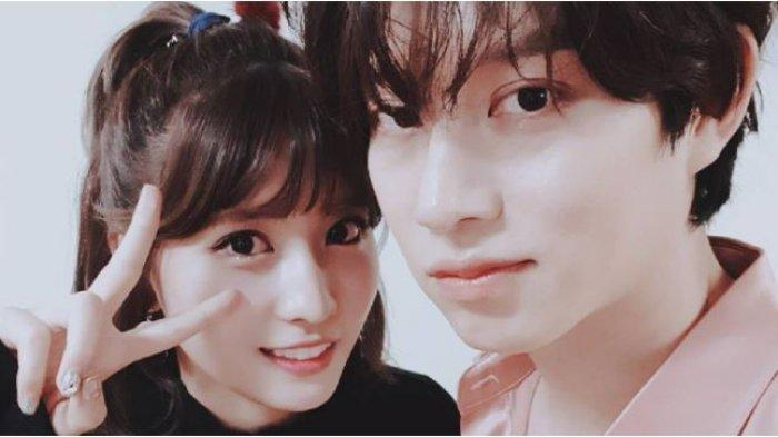 Momo TWICE dan Kim Heechul Super Junior.