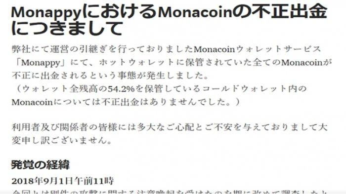 Lagi, Situs Virtual Currency Jepang Dijebol, 7735 Nasabah Kehilangan Sekitar 15 Juta Yen