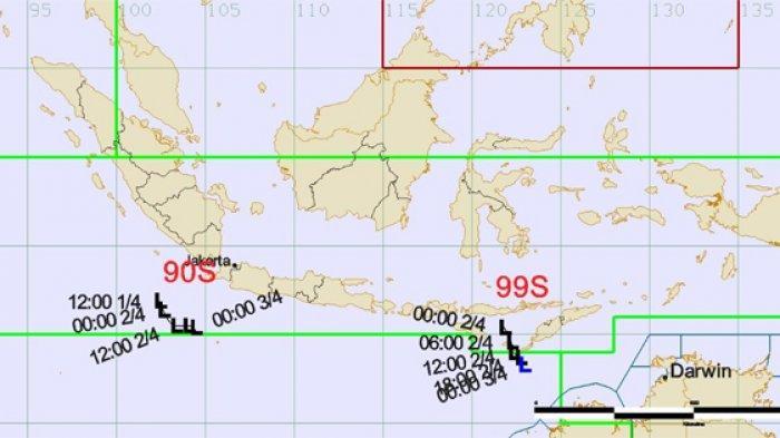 Waspada Cuaca Ekstrem! BMKG Deteksi Dua Bibit Siklon Tropis, Ini Dampaknya Bagi Indonesia