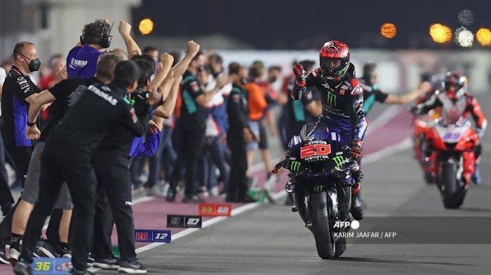JADWAL LIVE MotoGP Prancis 2021 di Trans7: Balapan di Lintasan Basah Bikin Quartararo Minder Gaspol