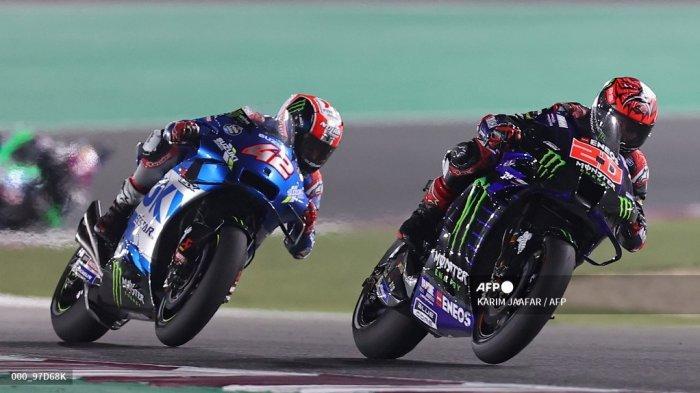 HASIL MotoGP Doha 2021 - Quartararo Lanjutkan Tren Vinales, Duo Pramac Ducati Raih Podium