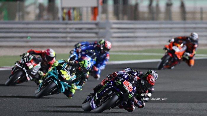 JADWAL MotoGP Doha 2021: FP1, FP2, FP3, Kualifikasi hingga Race Live TRANS7, Dimulai Hari Jumat