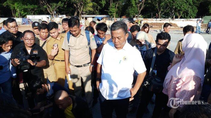 Ancam Polisikan Anies Terkait Revitalisasi, Ketua DPRD DKI Marah Lihat Ini di Pintu Depan Monas