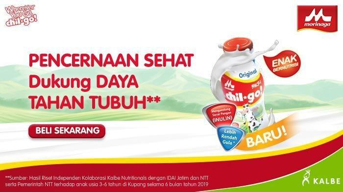 Moringa Chil go susu kaya serat pangan inulin