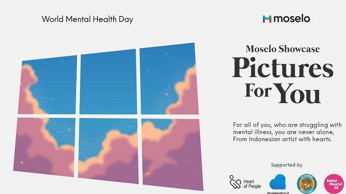 Gelar Event Mental Health Day, Moselo Rangkul Ilustrator Lokal
