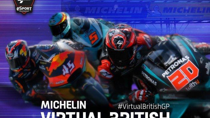 MotoGP 2020 Virtual Race 5: Minim Bintang, Valentino Rossi hingga Duo Marquez Absen