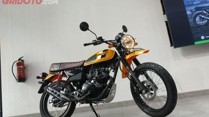 Cuma Varian Kawasaki W175TR yang Punya Pilihan Warna Lebih Banyak