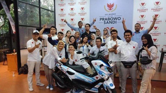 Gunakan Motor Relawan Prabowo Sandi Akan Makin Agresif Sambangi Calon Pemilih Di Wilayah Pelosok Tribunnews Com Mobile