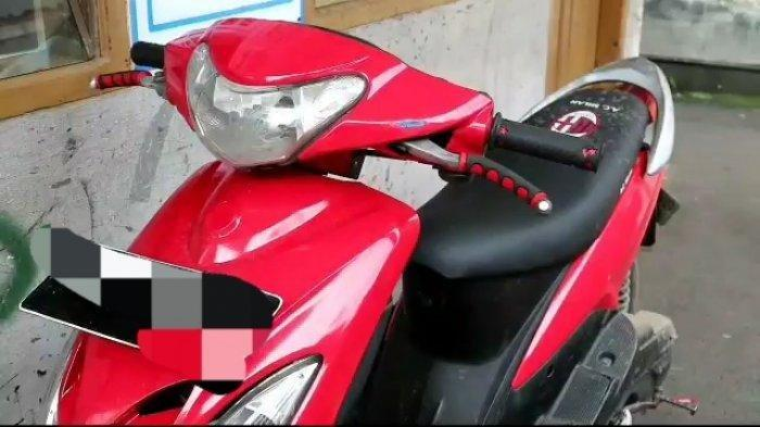 Aksinya Terekam CCTV dan VIral, Pencuri Motor Ini Pilih Kembalikan Sepeda Motor yang Sudah Dicuri