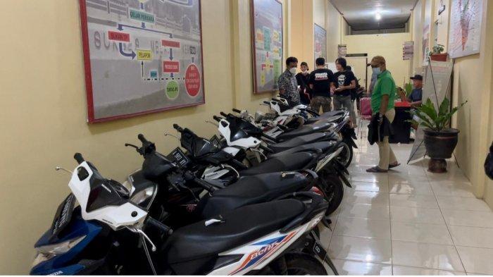 Polres Kepahiang Amankan 10 Sepeda Motor Bodong yang Diduga Hasil Kejahatan dari Pulau Jawa