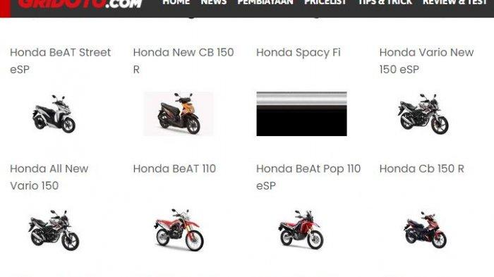 Daftar Harga Motor Honda Bekas September 2021: Beat, Megapro, GTR, Supra X, hingga Revo