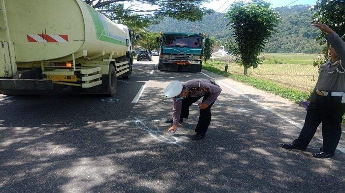 Insiden Tabrakan Maut Dua Motor di Jalan Painan Padang Renggut Nyawa Satu Pemotor