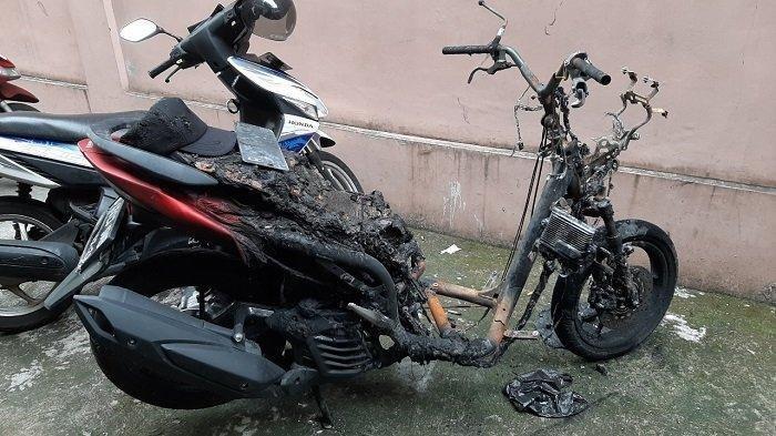 Motor Curiannya Terbakar,  Maling di Jakarta Selatan Ini Panik Lalu Kabur