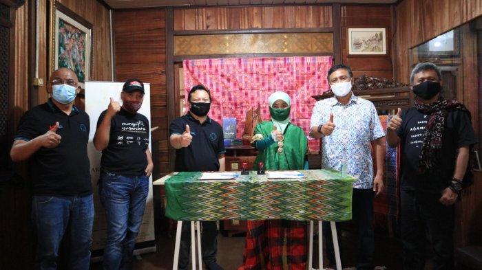 Aksara Lontara Go Digital, PANDI Teken Kerjasama dengan Yayasan Aksara Lontara
