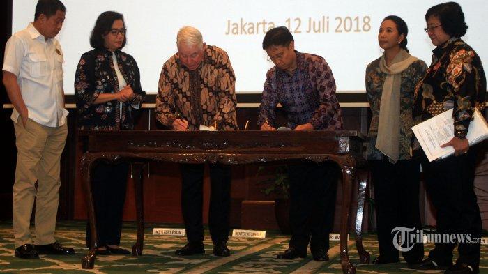 Inalum Belum Resmi Kuasai 51 Persen Saham Freeport Indonesia