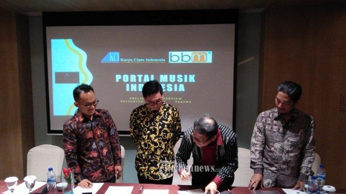 Mou KCI - BBM Dalam Bidang Bangun Portal Musik Indonesia