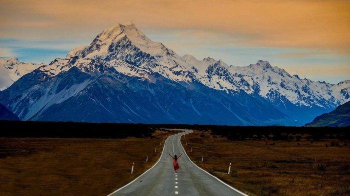 Mount Cook di Selandia Baru