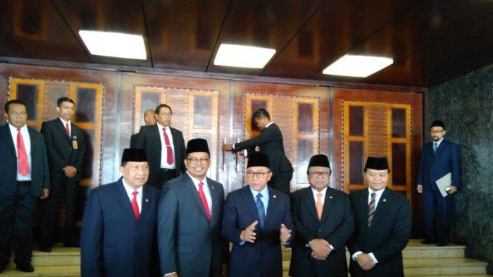 Sah, Ahmad Muzani, Ahmad Basarah, Muhaimin Iskandar jadi Wakil Ketua MPR