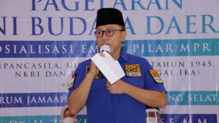 Di Pagelaran Seni Budaya Lampung, Zulkifli Hasan Ajak Seluruh Elemen Bangsa Untuk Bersinergi