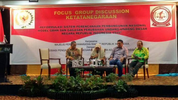 MPR RI Ajak Pakar Hukum Tata Negara Kalsel Bahas GBHN