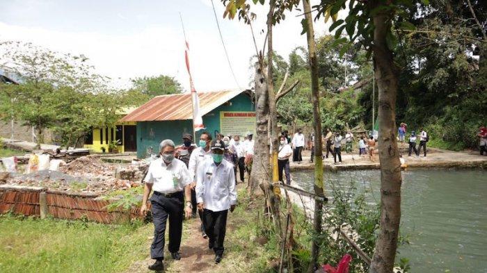 Terbaik di Indonesia, Dirjen Karliansyah Resmikan IPAL di Desa Pesanggrahan Kota Batu