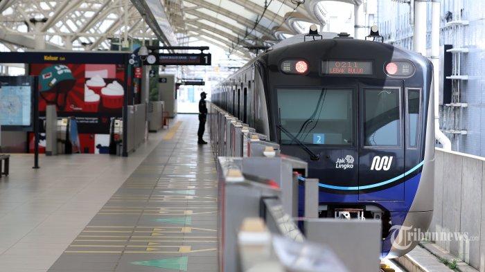 MRT Jakarta Beroperasi Hari Ini Jumat 9 Oktober 2020, Ini Daftar Pintu Masuk Stasiun yang Dibuka