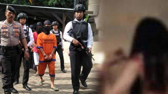 MSS (28), suami di Pasuruan yang tega menjual istri untuk berzina dengan teman-temannya.