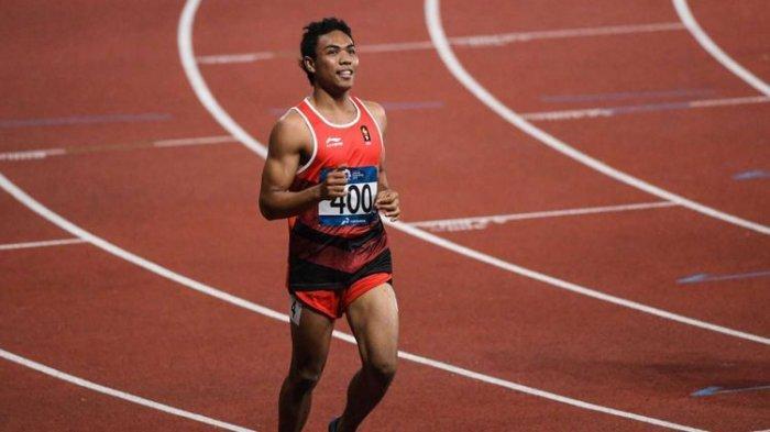 Zohri Menangis Saat Hubungi Pelatih Terbaik Asia Usai Dipastikan Lolos Kualifikasi Olimpiade 2020