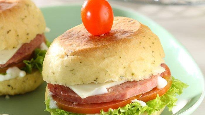 Muffin Burger Enak, Resep Ampuh Semangati Si Kecil Sarapan