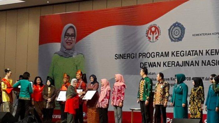 Mufidah Jusuf Kalla Buka Sinergi Program Dekranas di Sumsel