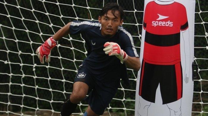 Muhammad Fadli Kiper PSIS Semarang Selalu Jada Kondisi Selama Tinggal di Bandung