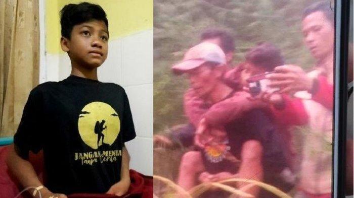 Gibran, Bocah 14 Tahun Ditemukan Selamat Setelah Hilang di Gunung Guntur, Kronologi hingga Pengakuan