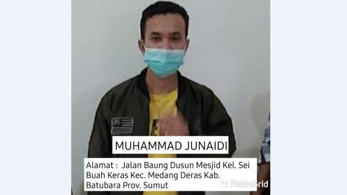 Muhammad Junaidi, satu dari enam tahanan BNNP yang kabur dari sel pada pukul