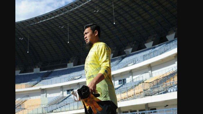 Muhammad Natshir kiper Persib Bandung
