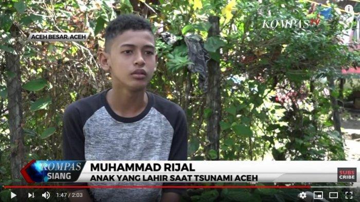 Kisah Muhammad Rijal, Anak yang Lahir di Gunung saat Bencana Tsunami Aceh 15 Tahun Silam