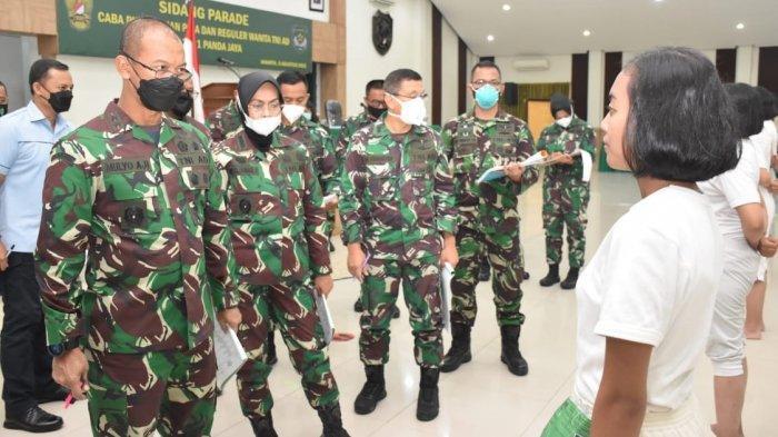 Pangdam Jaya Pimpin Sidang Parade Calon Bintara PK Keahlian Pria dan Reguler Wanita TNI AD TA 2021
